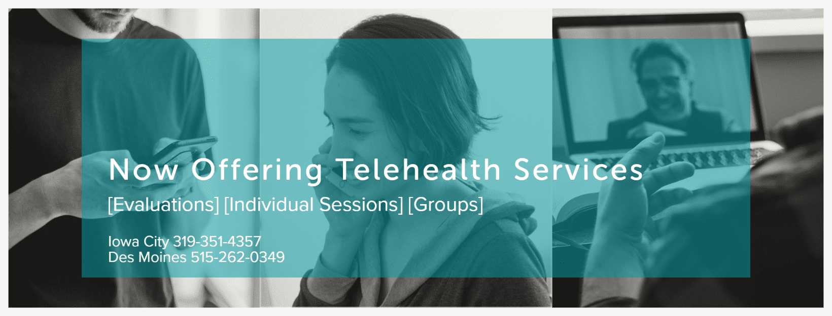 Telehealth Services are Available